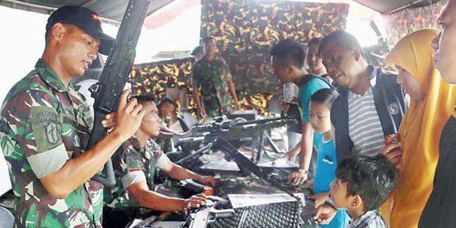 Masyarakat Antusias Kunjungi Pameran Alutsista Di BKB Palembang