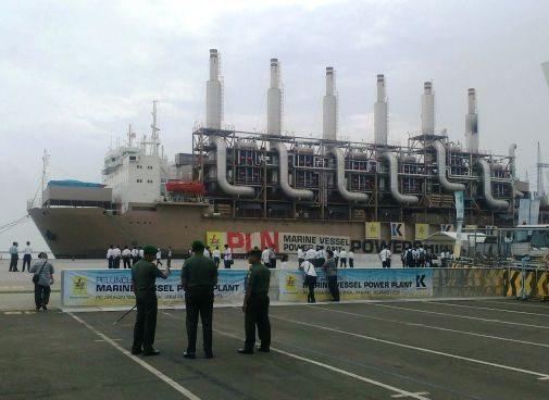 peresmian kapal listrik 2