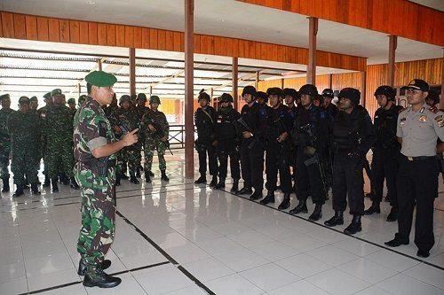 Danrem 172/PWY Melaksanakan Pengecekan Kesiapan Pengamanan Pemilukada