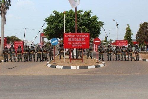Pengamanan TNI-Polri Dalam Kampanye Terbuka Dalam Pilkada TA 2015 Di Wilayah Merauke