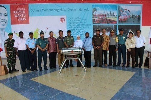Ekspedisi Kapsul Waktu Tiba di Kab. Merauke Setelah Menjelajah 43 Kota dan 34 Provinsi