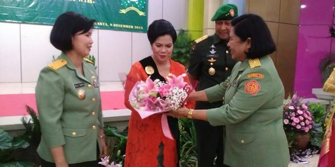 Pengukuhan Ibu Raksakarini Sri Sena Jaya