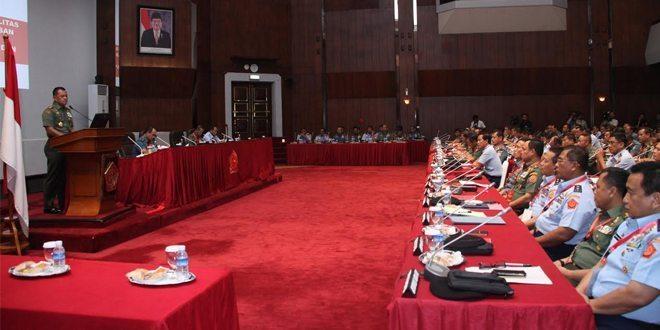 Panglima TNI Buka Rapat Pimpinan TNI 2016