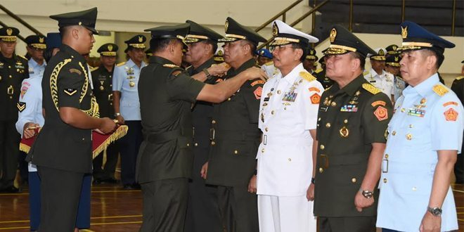 Panglima TNI Pimpin Sertijab Lima Pejabat Teras Mabes TNI