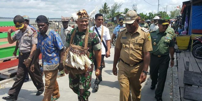 Panglima TNI Tinjau Pembangunan Jalan Mumugu-Wamena