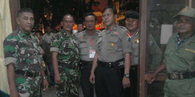 TNI-Polri Tandes Surabaya Pantau Kesiapan TPS