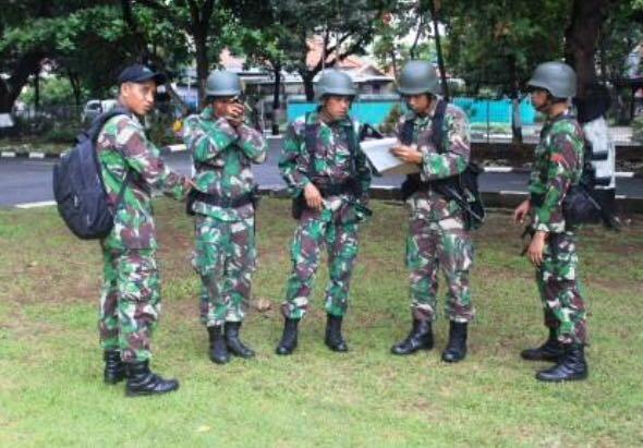 Lomba Tontangkas Ilmu Medan di Lapangan Brigif 1 PIK/JS