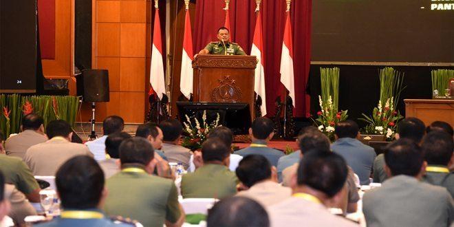 Panglima TNI Beri Pembekalan kepada 173 Pati TNI-Polri