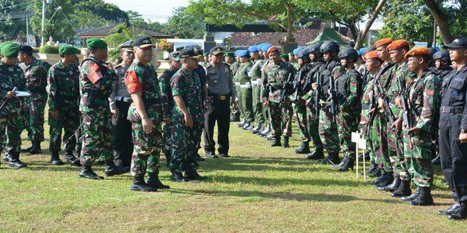 Ribuan Pasukan TNI-Polri Siap Amankan Kunjungan RI 1