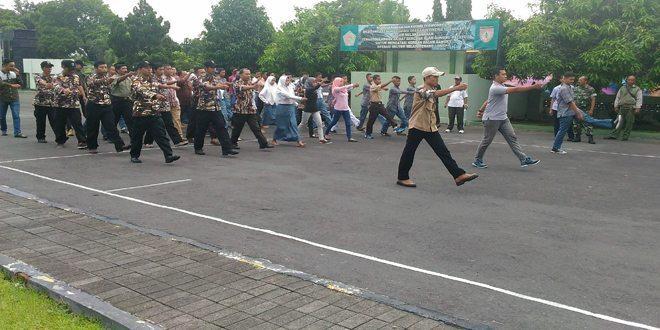 FKPPI Kab. Sleman Mantabkan Kemampuan Baris Berbaris