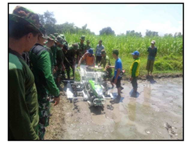 Foto – 5 Pelatihan Brigade Alsintan Dim Moker