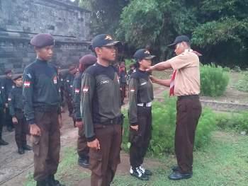 Diklat II Saka Wira Kartika Angkatan VI Sanggar Supriadi Koramil 0810/06 Kertosono Kodim 0810 Nganjuk