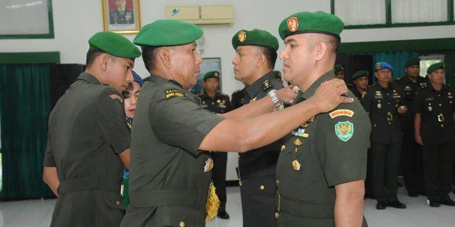 Serah Terima Jabatan Dandim 0616/Indramayu