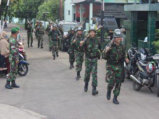 Siswa Diktukba Laksanakan Kegiatan Lintas Medan
