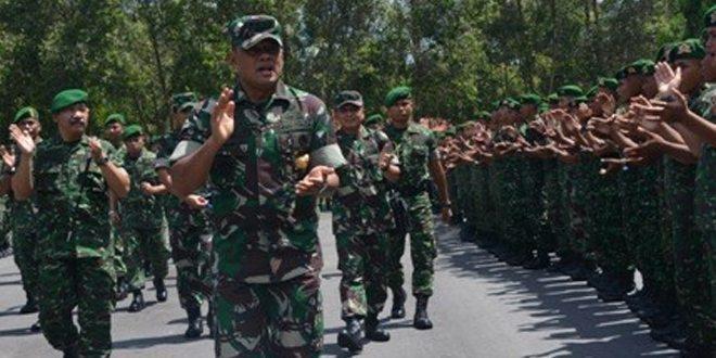 Kunjungan Panglima TNI Ke Korem 102/Pjg