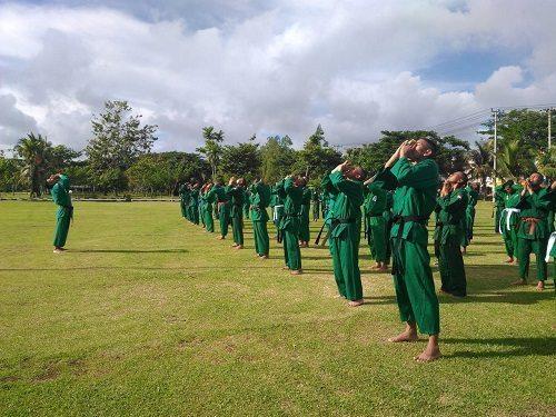 Asah Kemampuan Beladiri, Yonif 752/Vys Latihan Yongmodo
