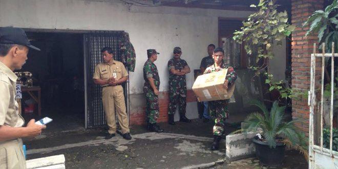 Kodam Jaya Kembali Tertibkan Aset Di KPAD Kwitang Timur