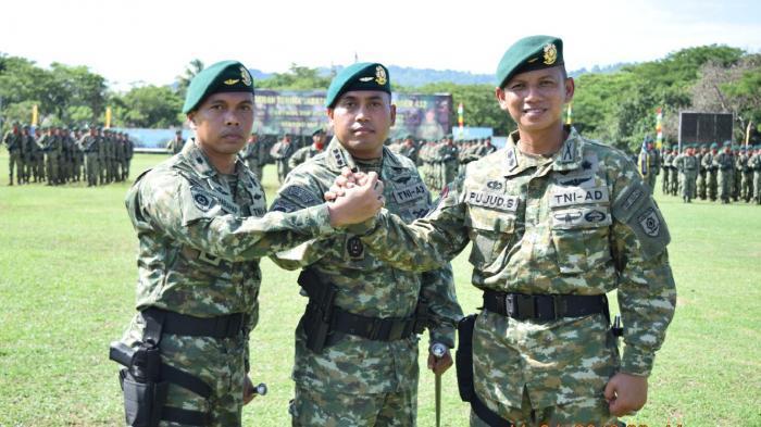 Mayor Inf Ahmad Daud Jabat Danyonif Para Raider 432 Kostrad