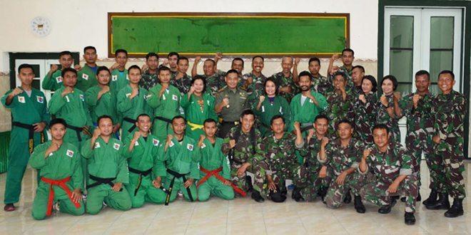 Tim Beladiri Yong Modo dan Tembak Korem 082/CPYJ Siap Bertanding