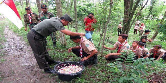 Pengukuhan Kader Baru Saka Wira Kartika Oleh Dandim 0716/Demak