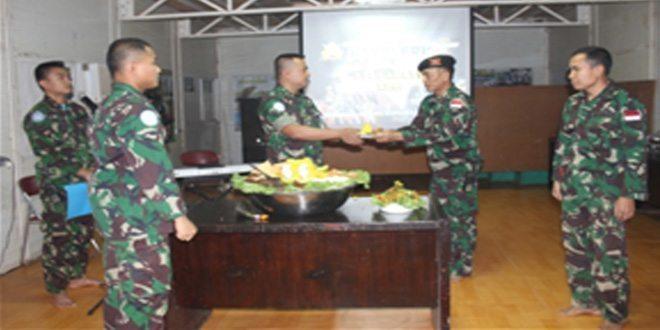 Prajurit TNI Peringati Hari Kavaleri TNI AD ke-66 di Afrika
