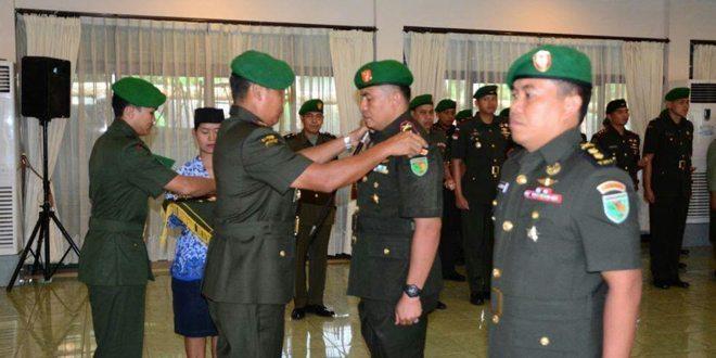 Danrem 172/PWY Pimpin Serah Terima Jabatan Dandim 1702/Jayawijaya