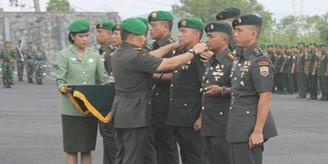 Danrem Pimpin Sertijab Tiga Dandim Dan Satu Komandan Batalyon Raider 134 Tuah Sakti