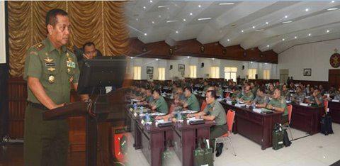Pangdam Buka Rapim Kodam VI/MLW