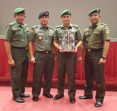 Pendam VI/Mlw Meraih Juara Pertama Penghargaan SatPen Terbaik