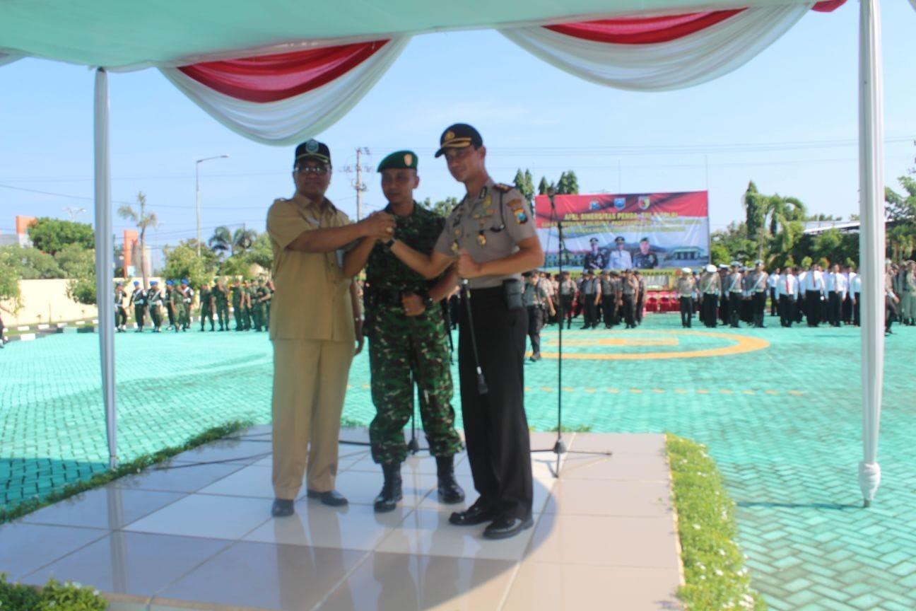 TNI, Polri, dan Pemda di Probolinggo Gelar Apel Sinergitas