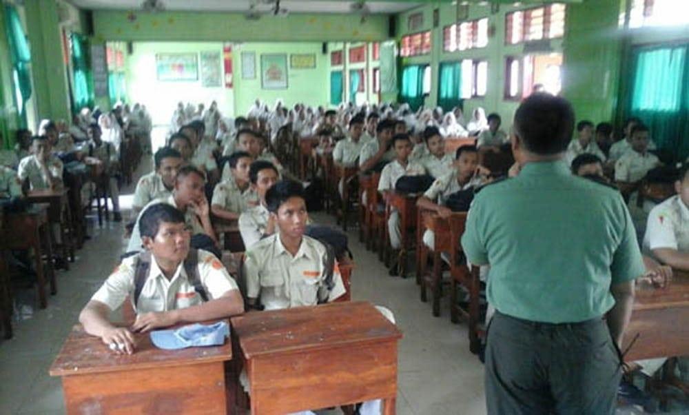 Kodim Lamongan Sosialisasi Penerimaan TNI-AD