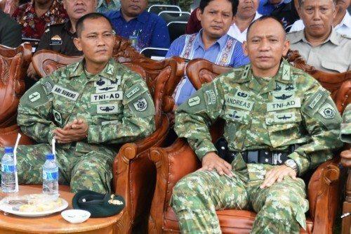 Mayor Inf Ari Suseno Jabat Danyonif 412 Raider Kostrad