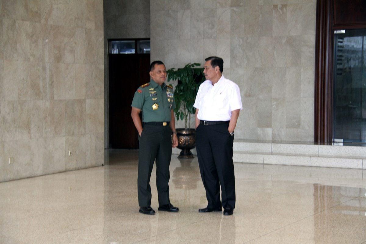 Menkopolhukam RI kunjungi Mabes TNI