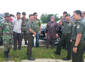 Dirjen PSP Kementan Kunjungi Brigade Alsintan Kodim 0509