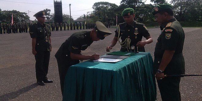 Pangdam Lantik 169 Bintara PK TNI AD di Rindam II/Swj