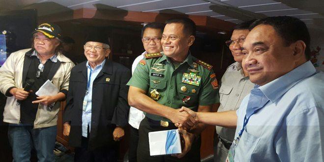 Panglima TNI : Wartawan Menjadi Motor Penggerak Bangsa
