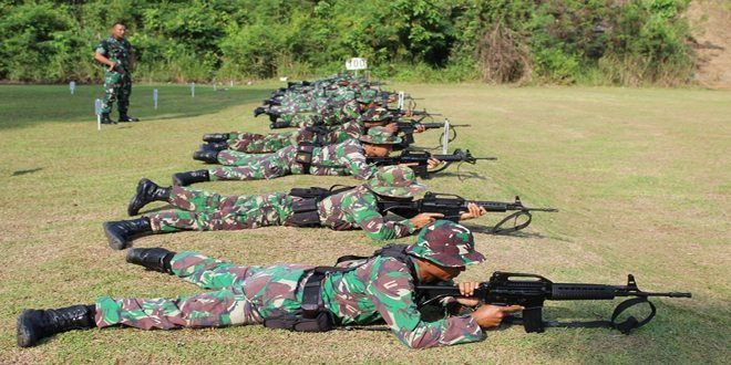 Latihan Bidik Kering, Tingkatkan Kualitas Menembak Prajurit
