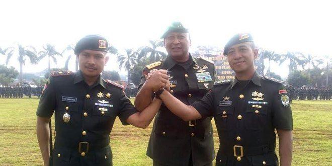 Pangdam Jaya Pimpin Acara Serah Terima Jabatan Danyonkav 7 Sersus
