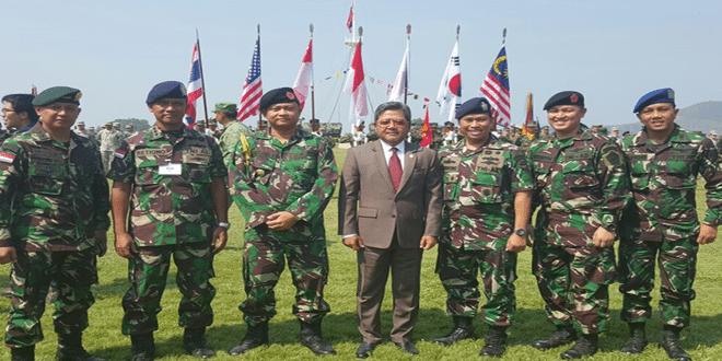 Latihan Cobra Gold di Pangkalan Militer Thailand 9-2-16