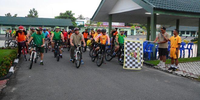 TNI-Polri Fun Bike Bersama