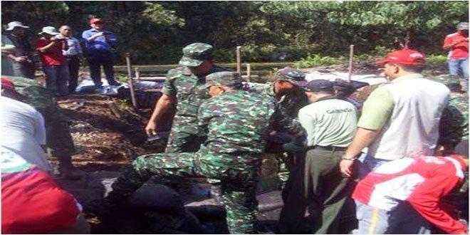 Pangdam I/BB Bersama Danrem 031/Wirabima Tinjau Pelatihan Penanggulangan Karlahut di PT RAPP