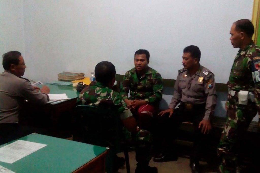 Penangkapan TNI Gadungan di Kodim 0810 Nganjuk