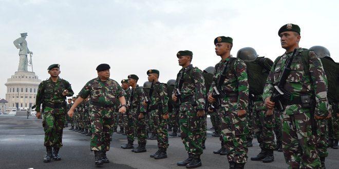 Yonarmed 12/1/2 Kostrad Siap Amankan Maluku dan Maluku Utara