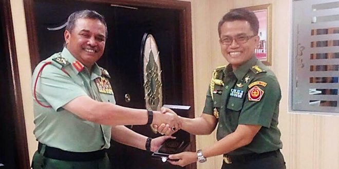 Jalankan Diplomasi Pertahanan, Athan RI di Kuala Lumpur temui Jenderal Malaysia