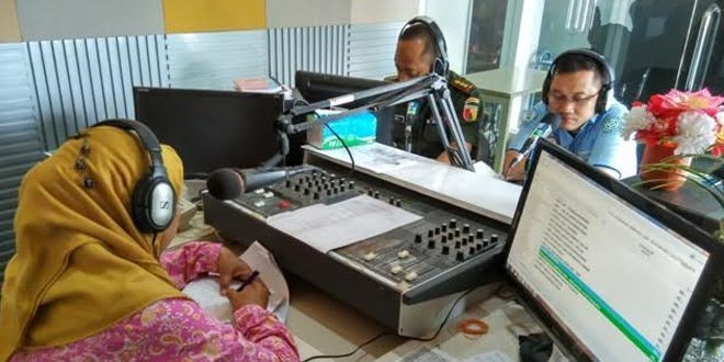 Kesdam dan BPJS Dialog Interaktif di RRI Surabaya