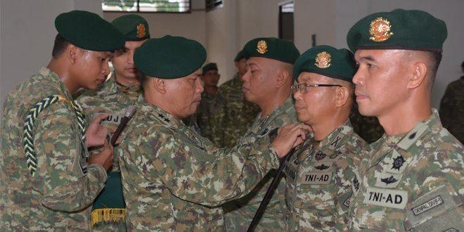 Serah Terima Jabatan Dandenma dan Dandenpal Divif 1 Kostrad Serta Tradisi Korps Prajurit Divif 1 Kostrad