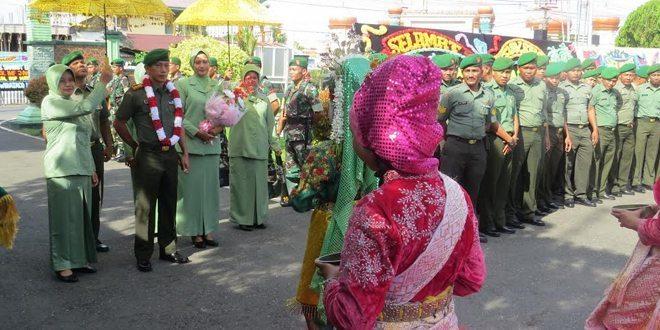 Kodim 0105/Aceh Barat Gelar Tradisi Pelepasan Dan Penyambutan Dandim