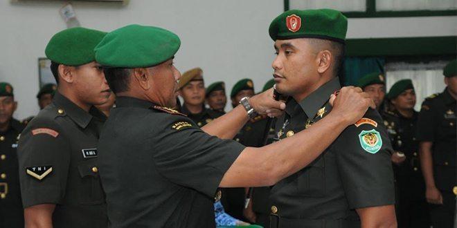 Danrem 063/Sgj Pimpin Acara Penerimaan Jabatan Dandim 0614/Kota Cirebon