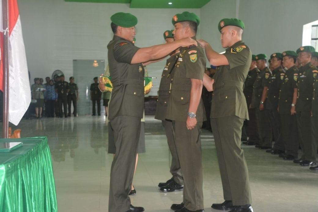 Danrem 043/Gatam, Pimpin Sertijab Dandim 0411/Lampung Tengah