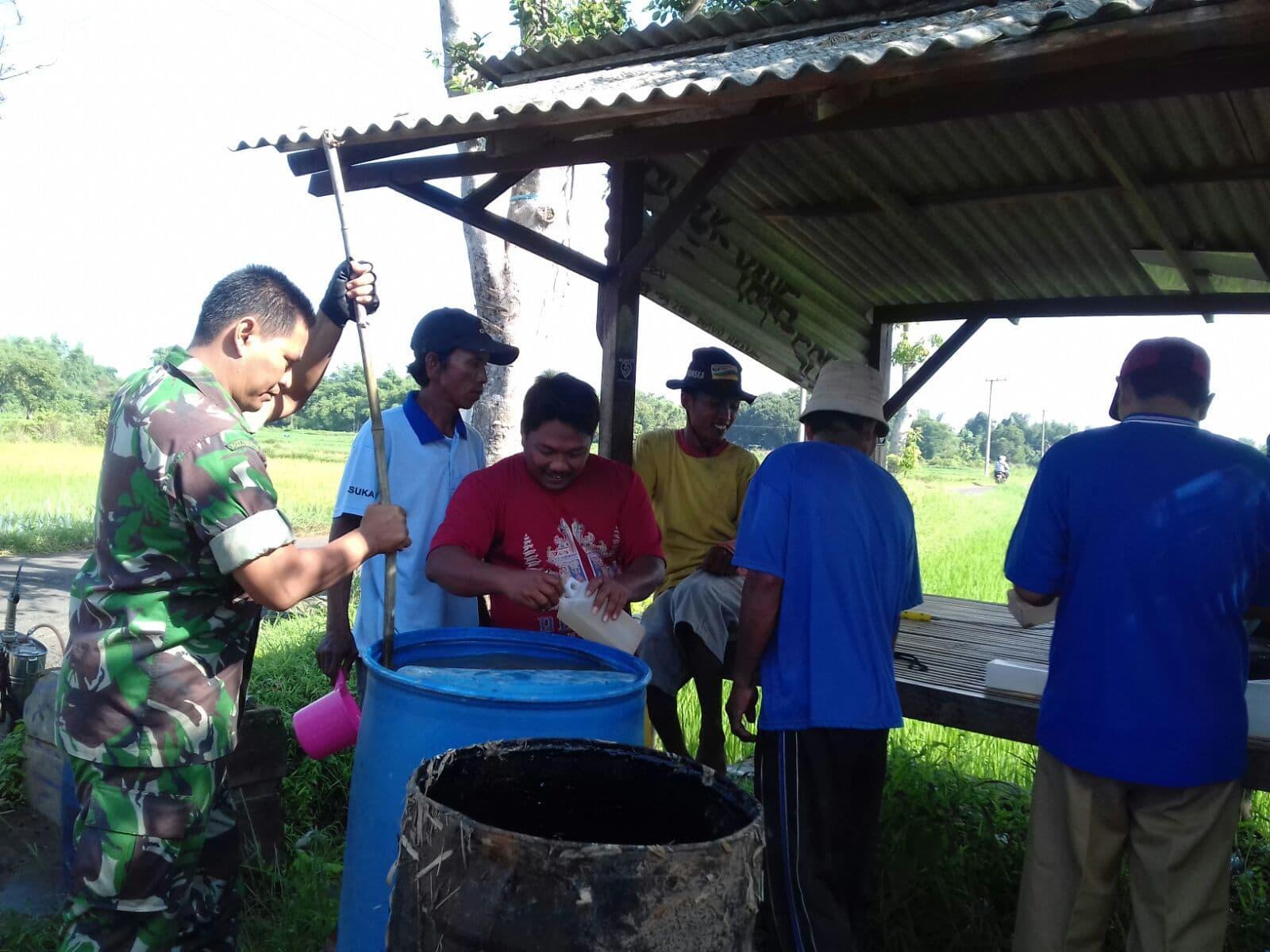 Kodim Bangkalan Intensifkan Komunikasi Soasial untuk Swasembada Pangan